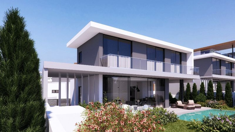 Contemporary 3-Beds Detached Villa in the Heart of Protaras properties for sale in cyprus