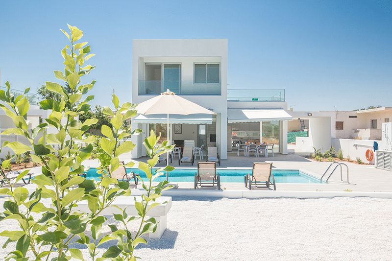 Contemporary 5 Bedroom Villa within Protaras Resort properties for sale in cyprus