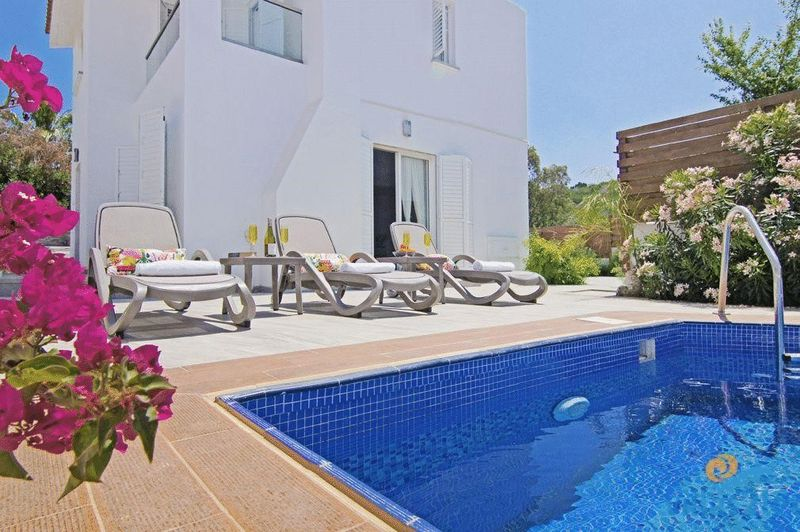 Detached 3 Bedroom Villa with Private Pool and Title Deeds properties for sale in cyprus