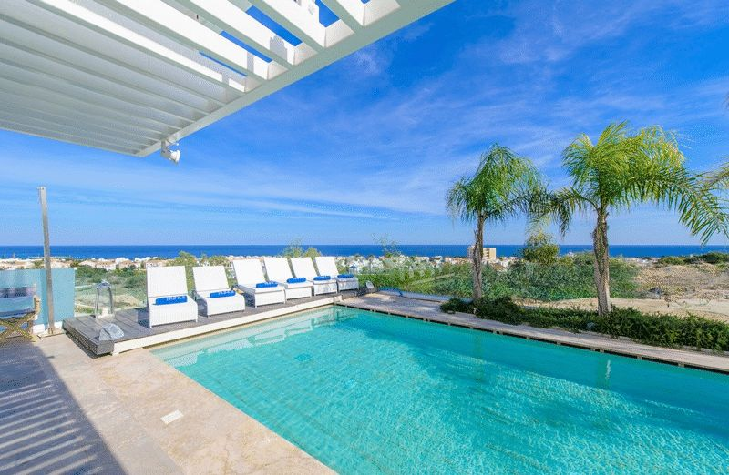 Luxury Villa With uninterrupted Sea View properties for sale in cyprus