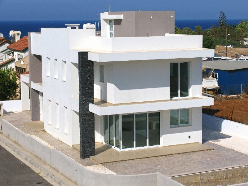 Modern Four Bedroom Villa with Roof Garden and Sea View in Protaras properties for sale in cyprus