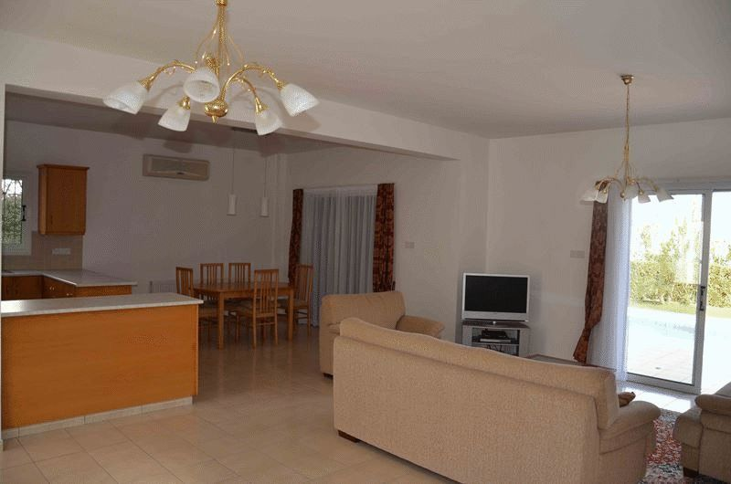 Spacious Four Bedroom Villa with Large Plot next to the Beach properties for sale in cyprus