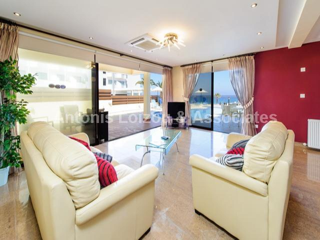 Four Bedroom Sea Front Detached Villa with Pool properties for sale in cyprus