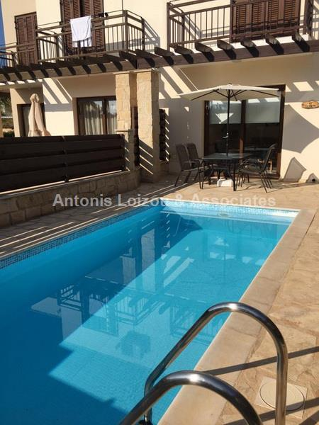 Two Bedroom House with Pool in Cape Greco properties for sale in cyprus