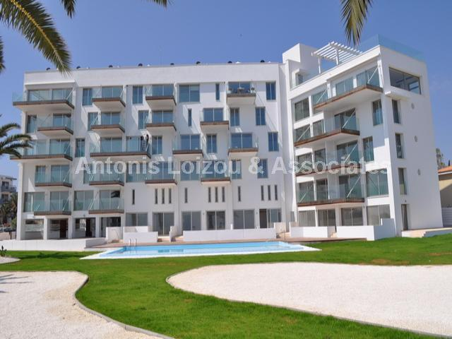 Two Bedroom  Beach Front Apartment with Pool properties for sale in cyprus