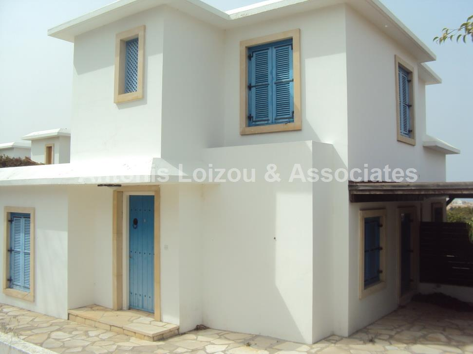 Three Bedroom Detached Villa with Sea Views and Title Deed in Pr properties for sale in cyprus