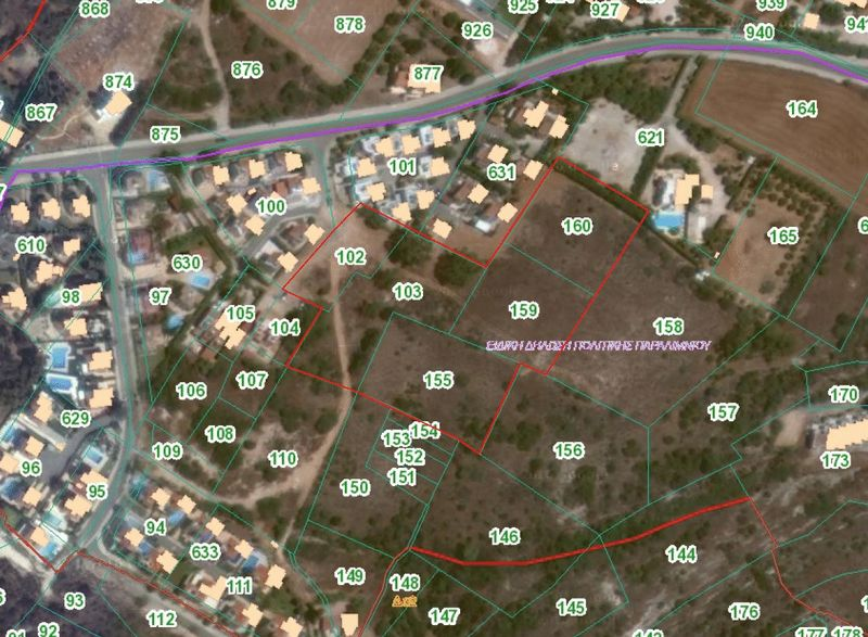 Rare Opporunity Development Land for sale with Uninterupted Sea Views properties for sale in cyprus