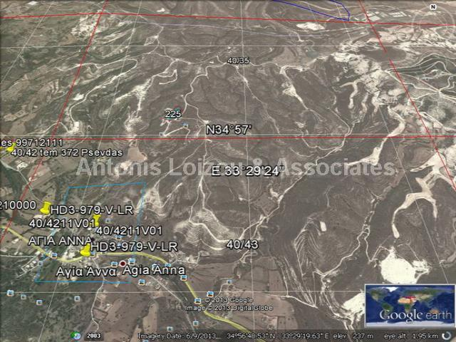 Land in Larnaca (Agia Anna) for sale