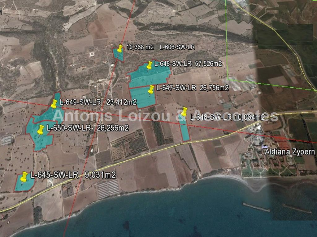 Field in Larnaca (Agios Theodoros) for sale
