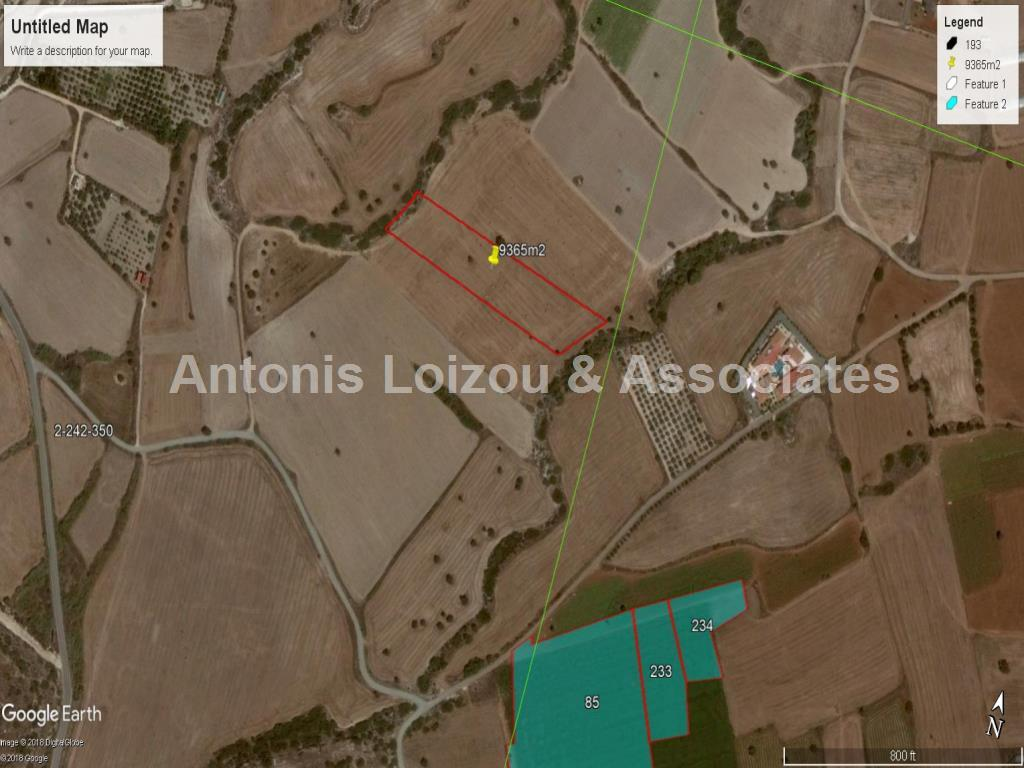 Field in Larnaca (Alaminos) for sale