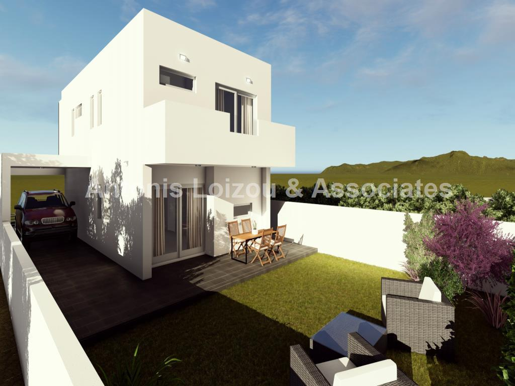 Three Bedroom Link Detached houses properties for sale in cyprus