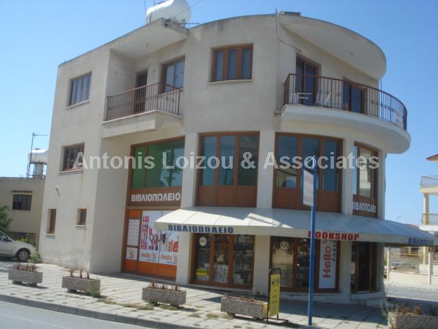 A Two Storey Block of one Three Bedroom Apartment and one Shop properties for sale in cyprus