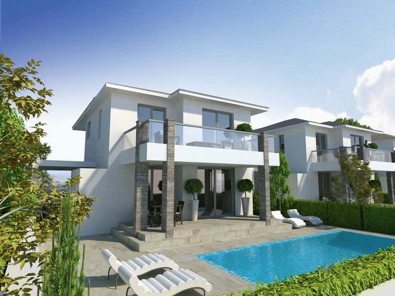 BRAND NEW LUXURY 3 BEDROOM DETACHED HOUSE, PYLA properties for sale in cyprus