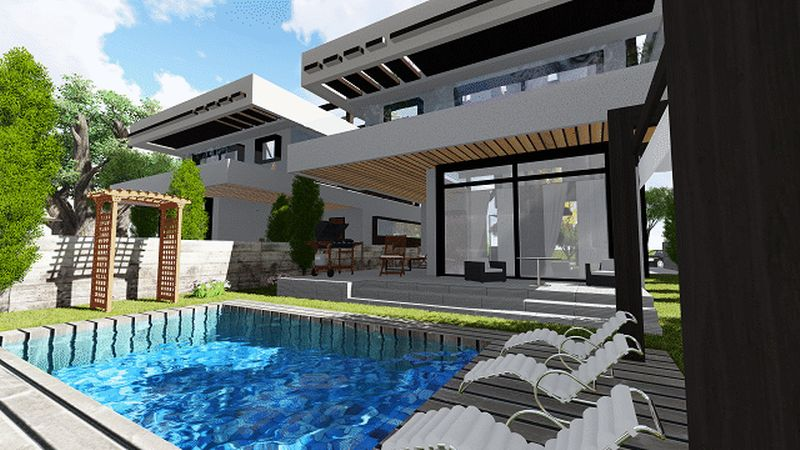 LIVADIA GARDENS 2, LUXURY VILLA WITH PRIVATE POOL FOR SALE, LIVADIA properties for sale in cyprus