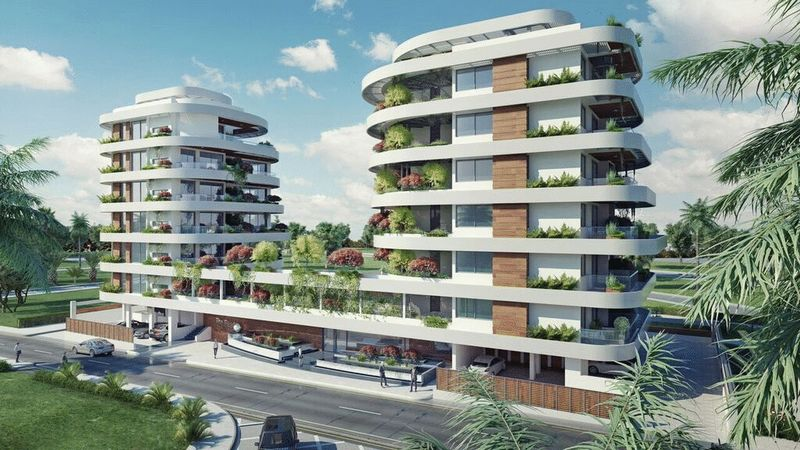 LUXURIOUS 1,2 & 3 BEDROOM APARTMENTS WITH POOL AND WALKING DISTANCE TO THE BEACH FOR SALE, MACKENZIE AREA properties for sale in cyprus