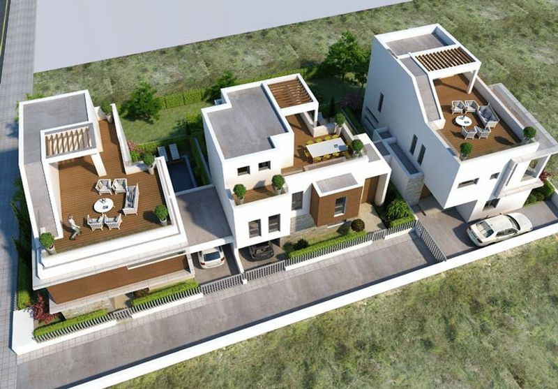 LUXURY 4 BEDROOM VILLA WITH POOL, LIVADIA, LARNACA properties for sale in cyprus