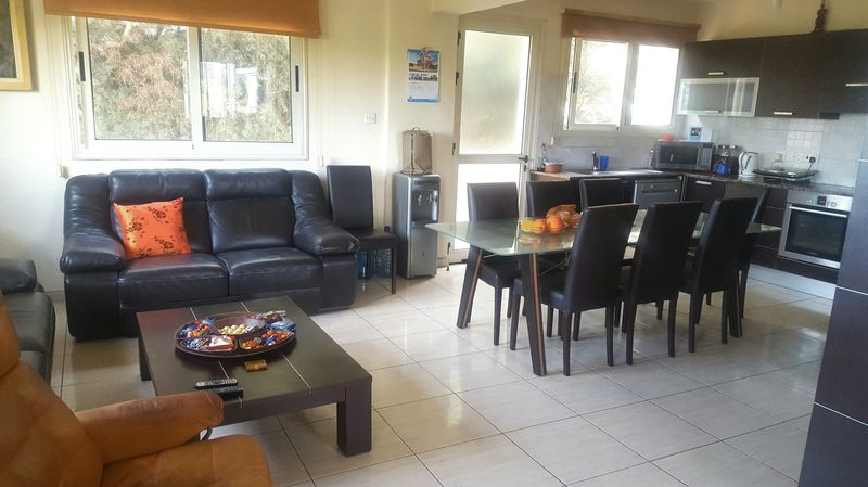 MODERN 3 BEDROOM GROUND FLOOR APARTMENT FOR SALE, LIVADIA properties for sale in cyprus