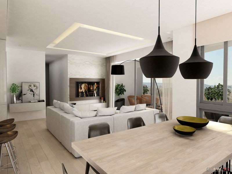 Modern 3 Bedroom Whole Floor Apartment, Town Centre, Larnaca properties for sale in cyprus