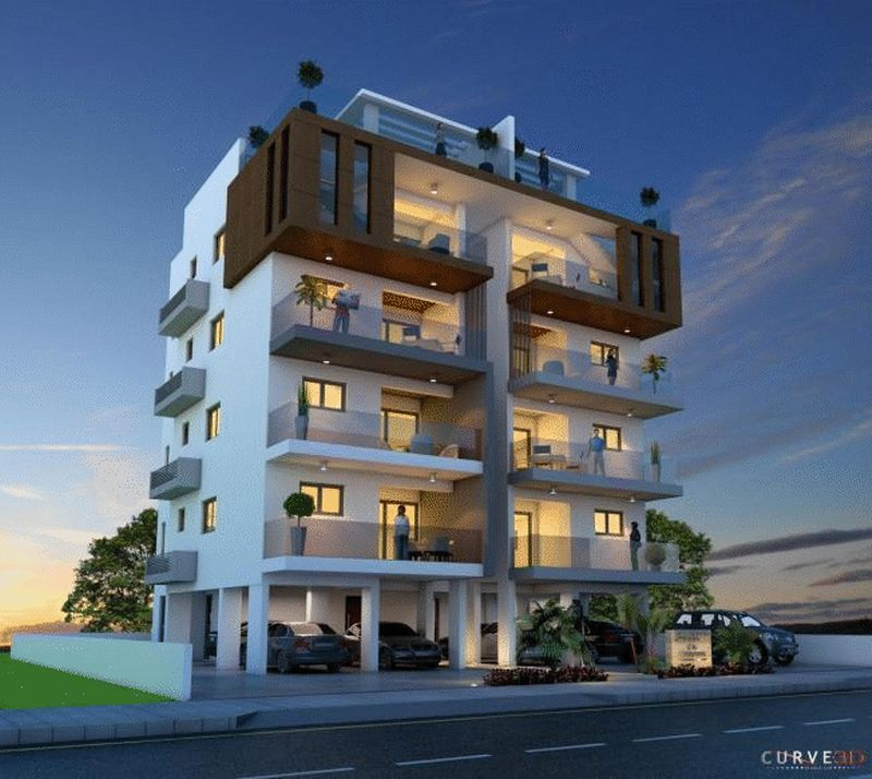 TOWN RESIDENCES - LUXURY 2 BEDROOM 1ST FLOOR FLAT, ST GEORGE AREA properties for sale in cyprus