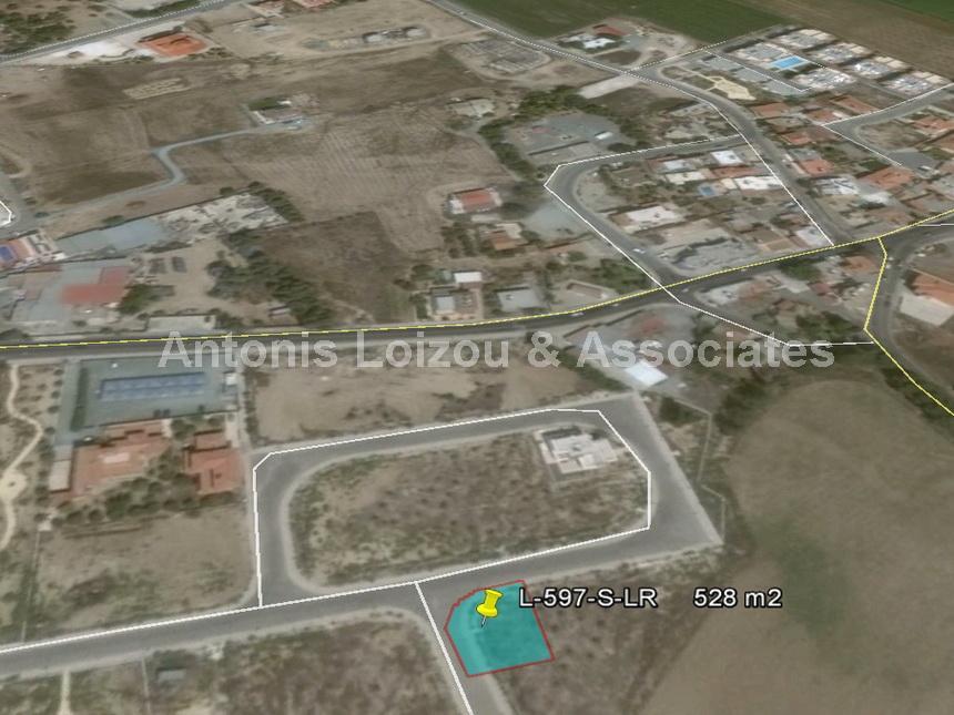 Corner Building Plot in Meneou properties for sale in cyprus