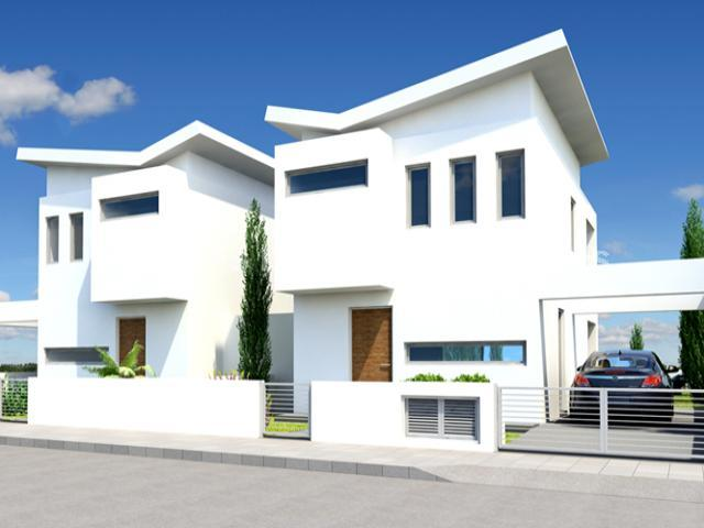 Three Bedroom Detached House-Off Plan properties for sale in cyprus