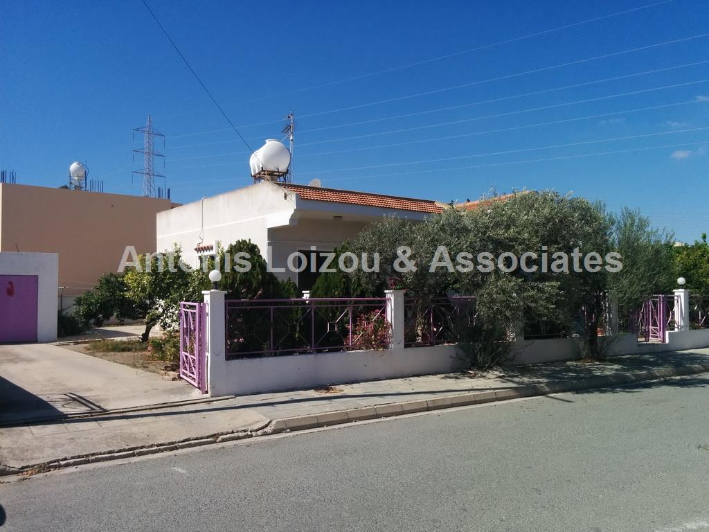 Two Bedroom Detached Bungalow in Big Plot properties for sale in cyprus