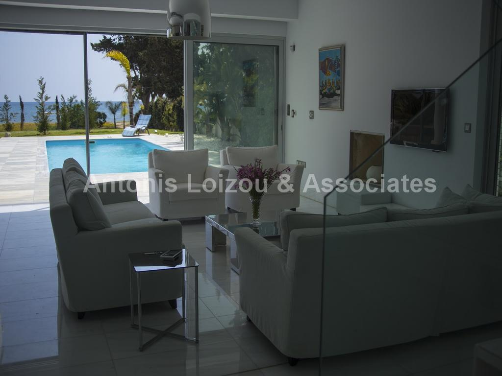 Four Bedroom Detached Beach Front House - Pervolia properties for sale in cyprus