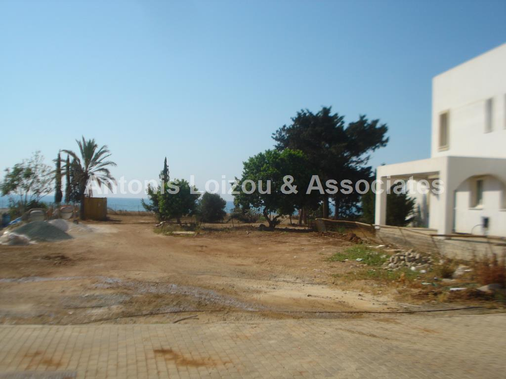 Beach Front Building Land properties for sale in cyprus