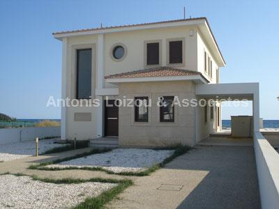 Four Bedroom Sea Front Villas properties for sale in cyprus