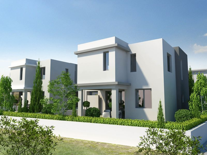 PYLA PROJECT BRAND NEW LUXURY 3 - 4 BEDROOM DETACHED HOUSES FOR SALE properties for sale in cyprus
