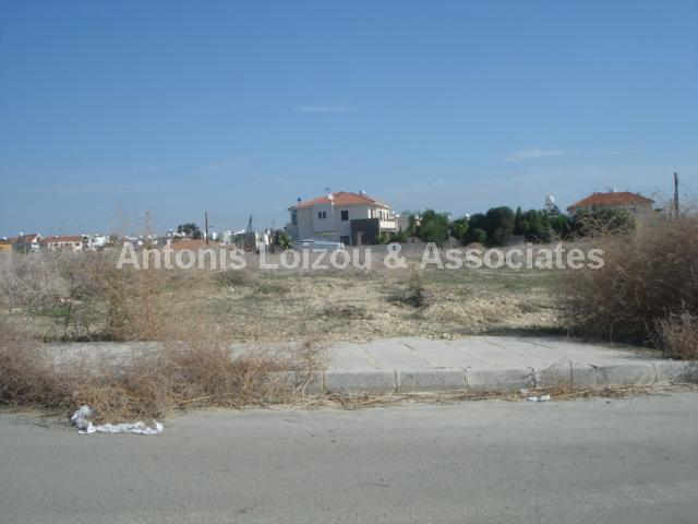 Land in Larnaca (Alethrico) for sale