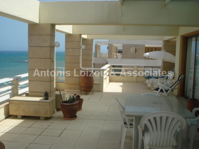 Two Bedroom Apartment top floor Beach Front with Title Deeds properties for sale in cyprus
