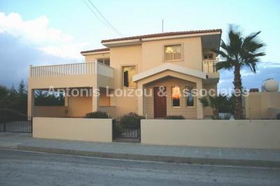 Detached Villa in Larnaca (Mazotos) for sale