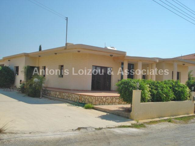 Detached Bungalo in Larnaca (Ormidhia) for sale