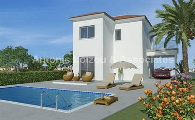 Three Bedroom Detached Houses properties for sale in cyprus