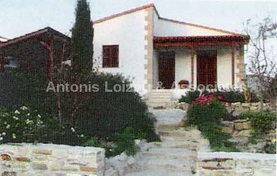Detached Bungalo in Larnaca (Psematismenos) for sale