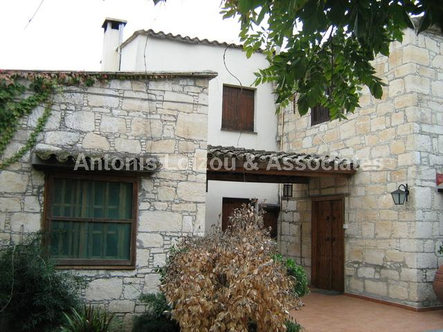 3 Bedroom Traditional Cypriot House with large garden + Seperate properties for sale in cyprus