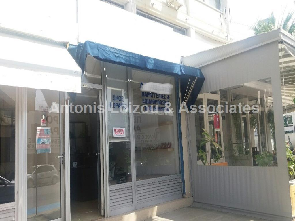 Shop in Limassol (Agia Zoni) for sale