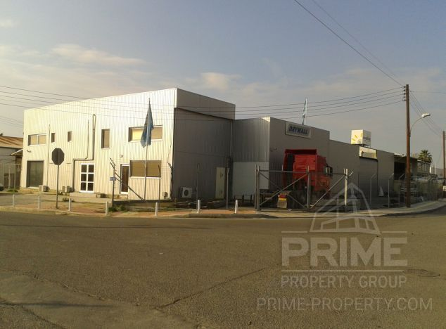 Industrial estate in Limassol (Agios Athanasios) for sale