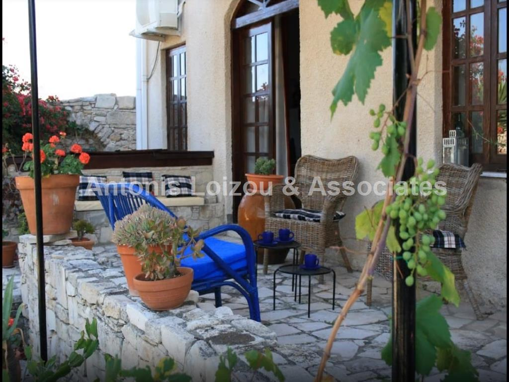 Four Bedroom Detached House In Akrounta properties for sale in cyprus