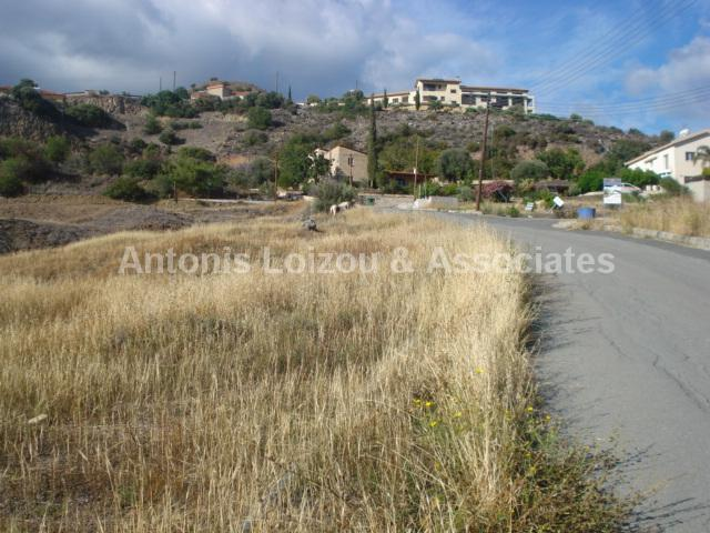 Land in Limassol (Akrounta) for sale