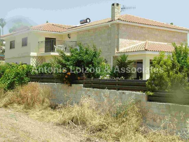 Detached Villa in Limassol (Anoyira) for sale