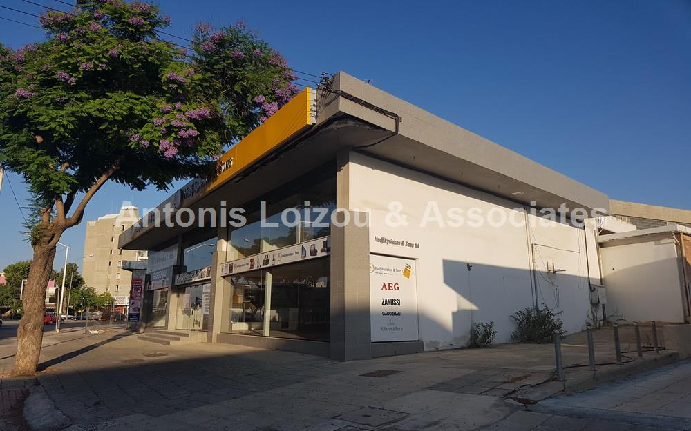 Showroom For Sale Makarios Avenue properties for sale in cyprus