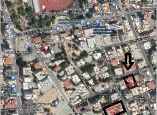 Sale of land in area: City centre - properties for sale in cyprus