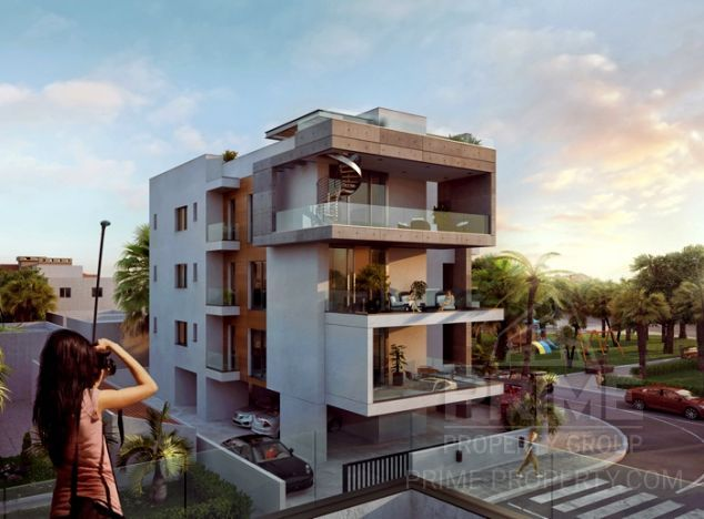 Sale of penthouse, 163 sq.m. in area: City centre - properties for sale in cyprus