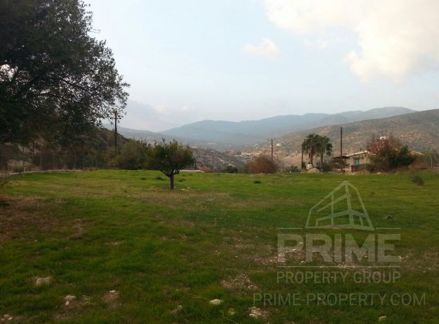 Land in Limassol (Foinikaria) for sale