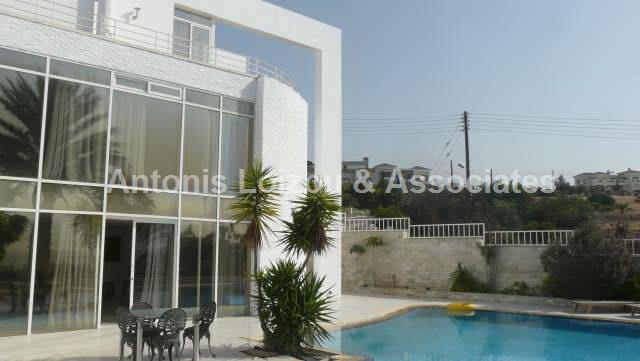 Five Bedroom Detached Villa with Sea Views properties for sale in cyprus