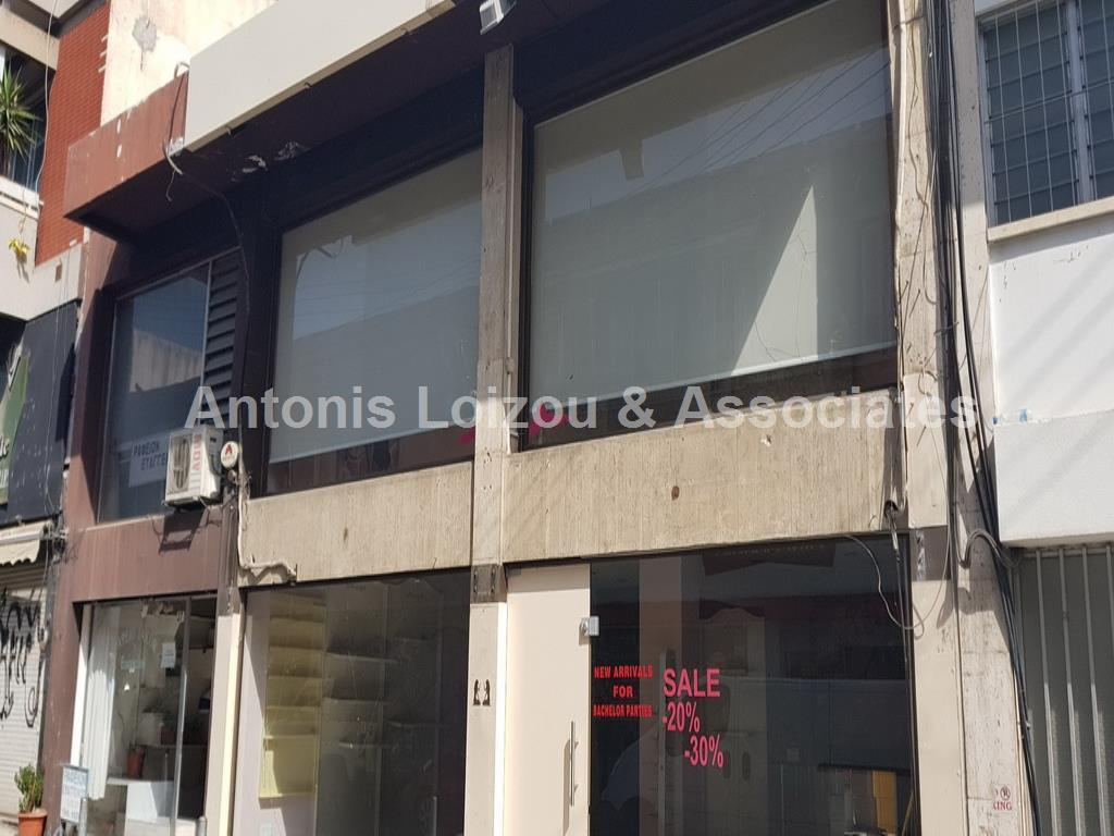 SHOP For Sale Off Anexartisias properties for sale in cyprus