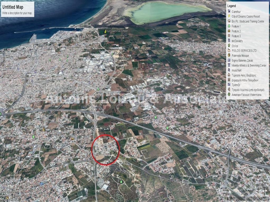 Land in Limassol (Kato Polemidia) for sale