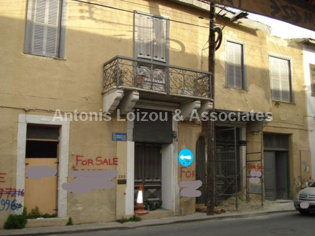 Two Storey Listed Building For Investor properties for sale in cyprus